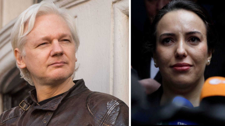 VIP-News: Die Kombo zeigt Wikileaks-GründerJulian Assange und seine Partnerin Stella Moris
