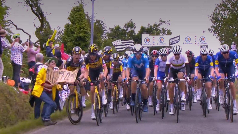 Massensturz bei Tour de France