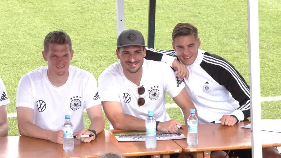 Deutschland gegen England: Vor dem Achtelfinale in Wembley: Zwei DFB-Spieler fehlen beim Training