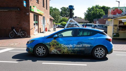 Auto von Google Street View