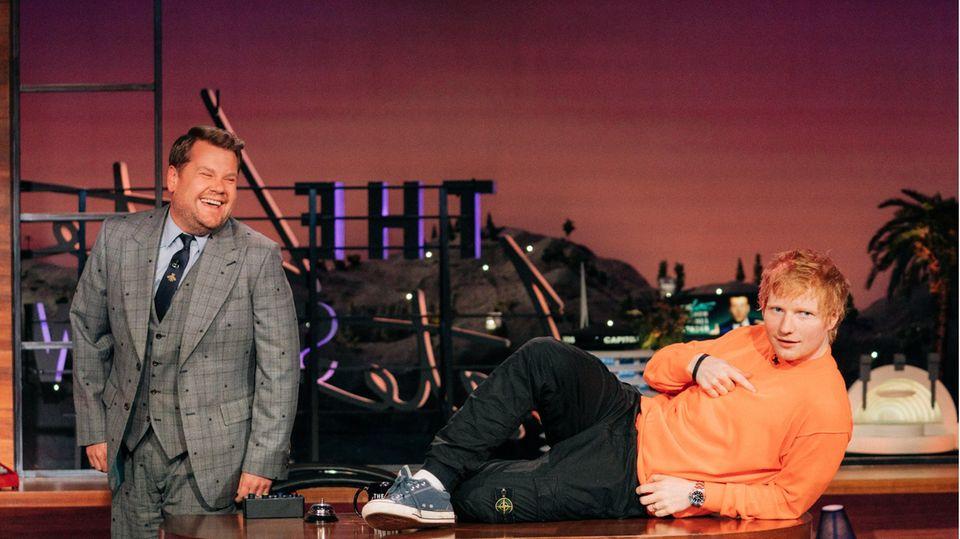 Ed Sheeran bei James Corden