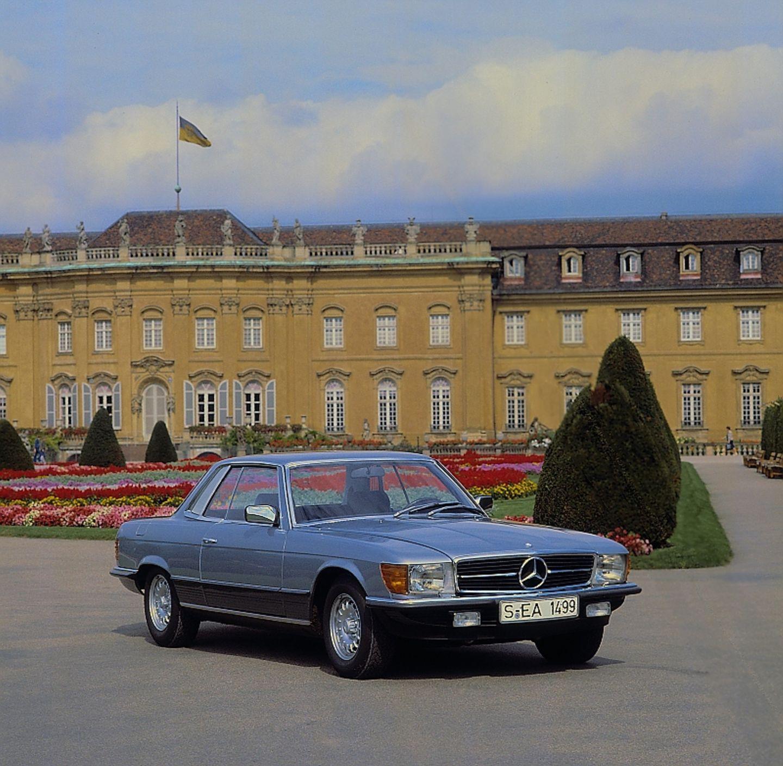Mercedes SLC der Baureihe C 107