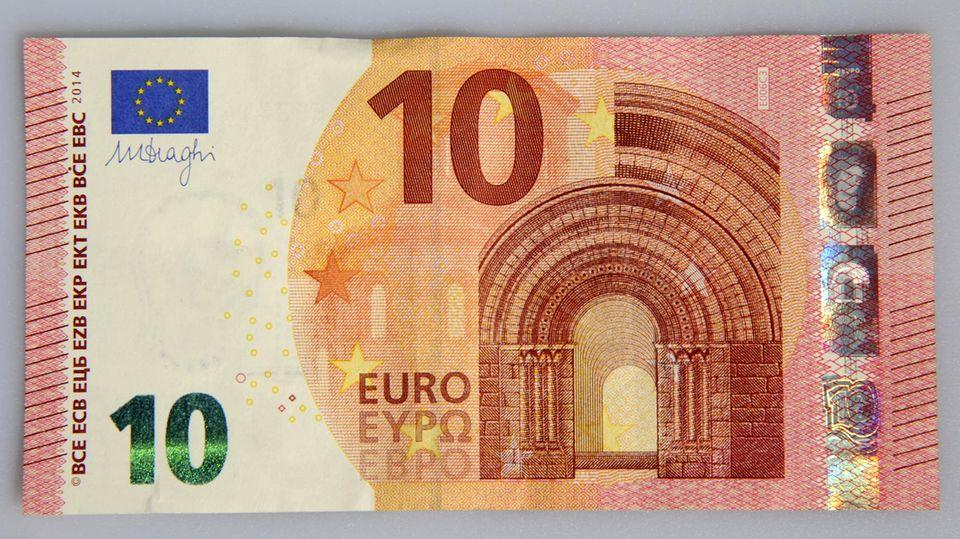 Banknote: 10-Euro-Schein