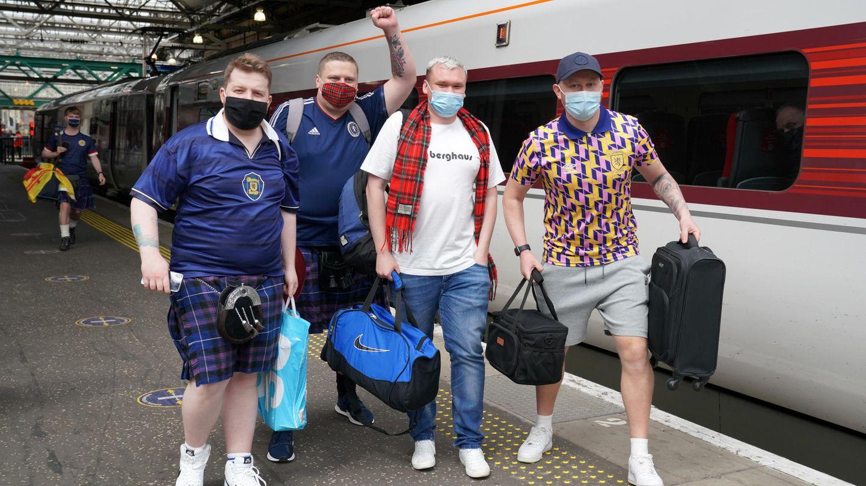 Reisende Schotten bei Euro