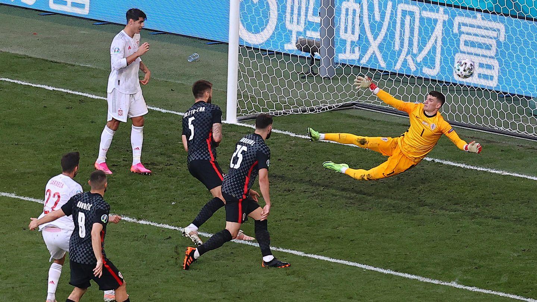 Sarabia (21) erzielte das 1:1 für Spanien gegen Kroatien
