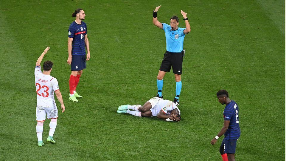 Fernando Rapallini beim Viertelfinale der EM 2021 zwischen Frankreich und der Schweiz