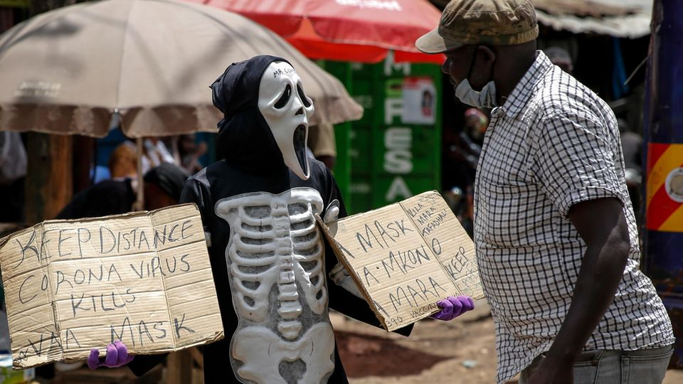 Reportage aus Kenia: Delta-Notstand in Afrika – wie die Corona-Variante einen ganzen Kontinent überrollt