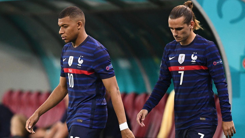 Antoine Griezmann und Kylian Mbappé