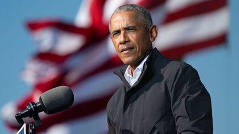"""Ex-US-Präsident Barack Obama warnt:""""Was als 'die große Lüge'bezeichnet wird, gewinnt plötzlich an Fahrt"""""""