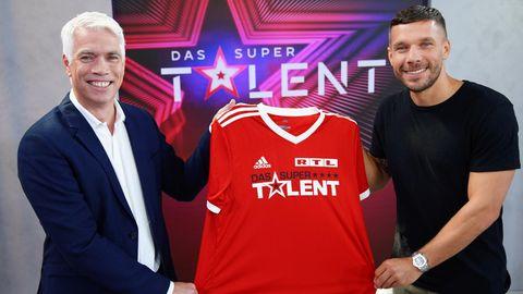 """Lukas Podolski wird neuer Juror beim """"Supertalent"""""""