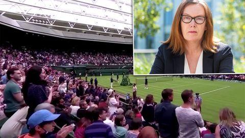 Wimbledon: Astrazeneca-Entwicklerin Sarah Gilbert bekommt Standing Ovations