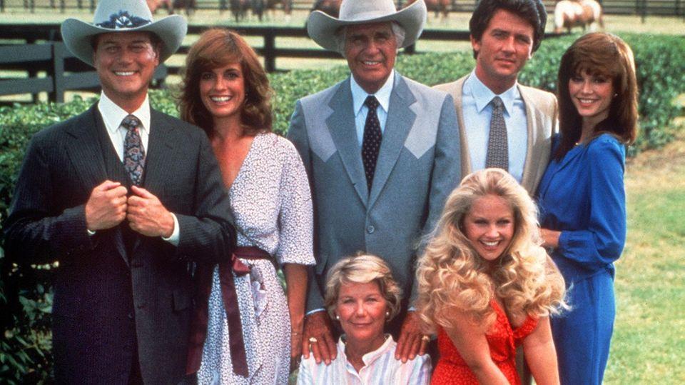 """Die Darsteller der TV-Serie """"Dallas"""""""