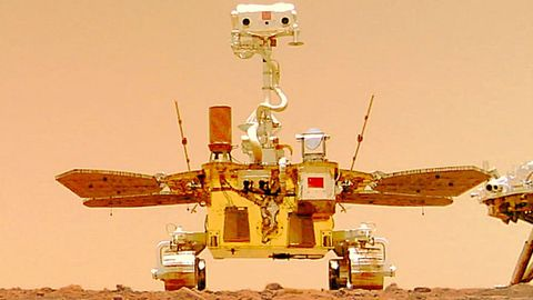 "Chinas Rover ""Zhurong"" grüßt mit Videos vom Mars"