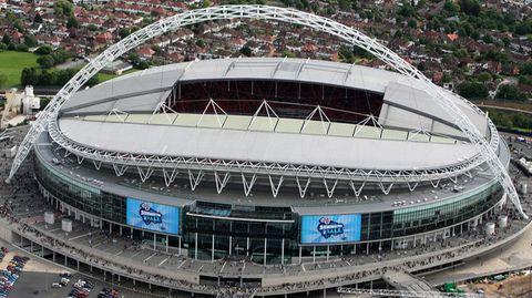 Das legendäre Wembley-Stadion