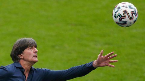 In jeder Partie lag sein Team zurück: DFB-Coach Joachim Löw