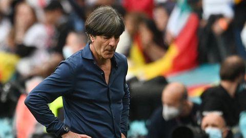 Bundestrainer Joachim Löw bei seinem letzten Spiel