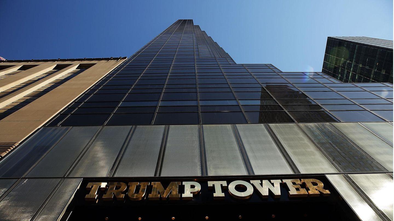 Der Trump Tower in Manhatten, New York City