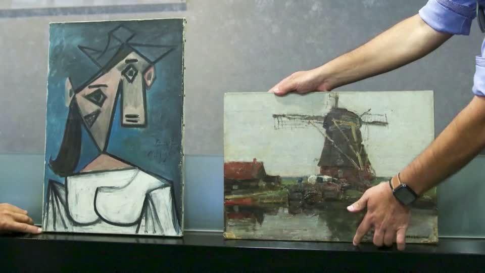 Auktion in London: Heftiges Bietergefecht bei Sotheby's um Lucian Freuds Porträt von David Hockney
