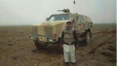 Mohammad Essa Ahmadi ist Anfang 20, als er den Deutschen in Afghanistan hilft.Er verdient mehr als 600 US-Dollarim Monat, aber vor allem, so sieht er das damals, tut er etwas für sein Land.