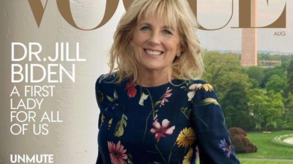 """Jill Biden auf dem Cover der """"Vogue"""""""