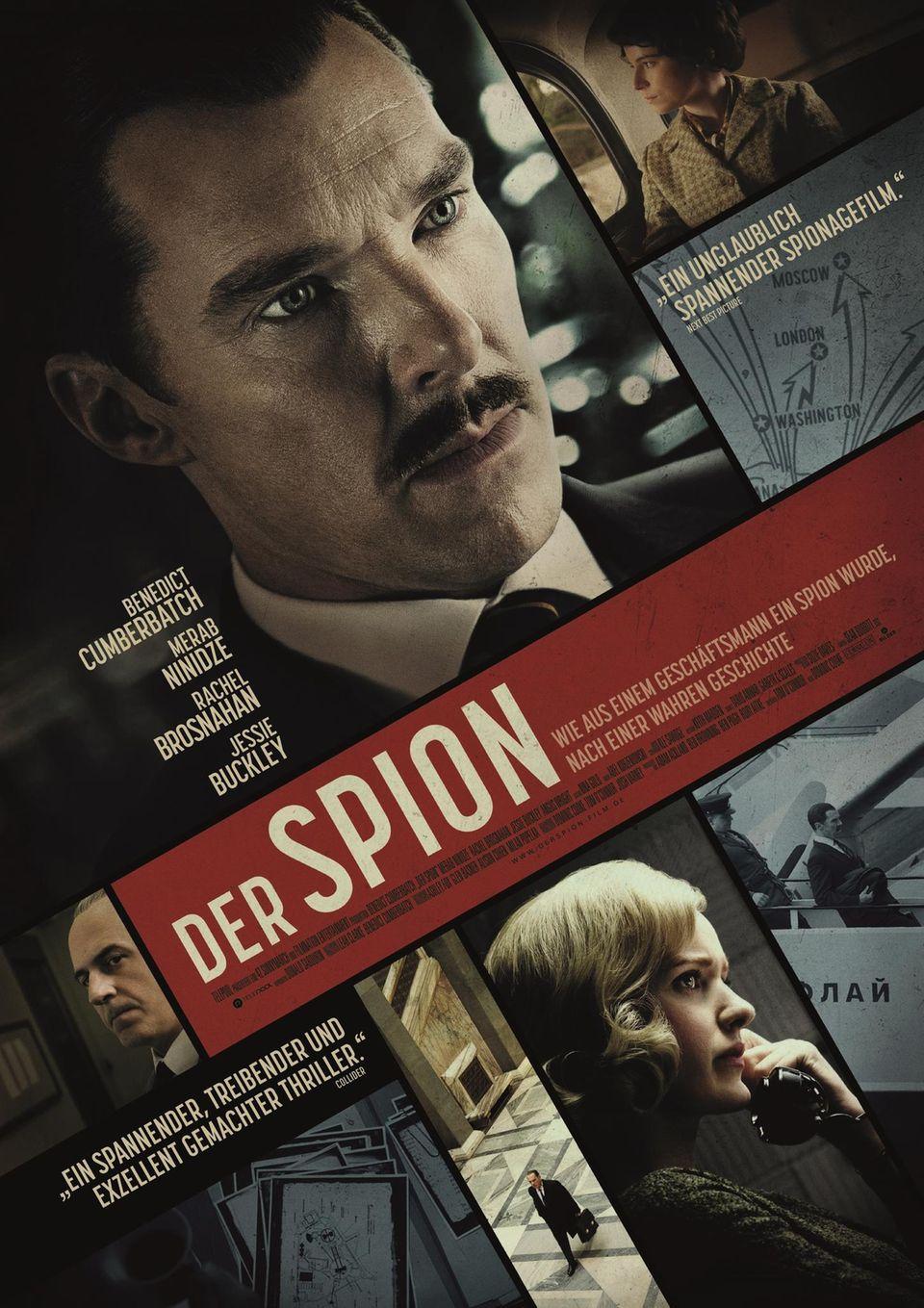"""Plakat zum Film """"Der Spion"""" (Originaltitel """"The Courier""""), der am 1. Juli 2021 in den deutschen Kinos anläuft"""