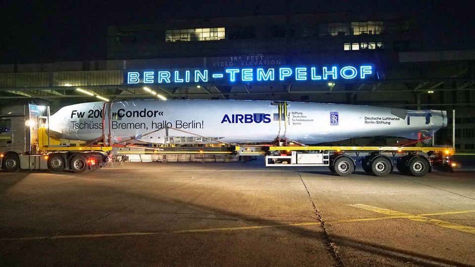 Restaurierte Focke-Wulf Fw 200 in berlin-Tempelhof