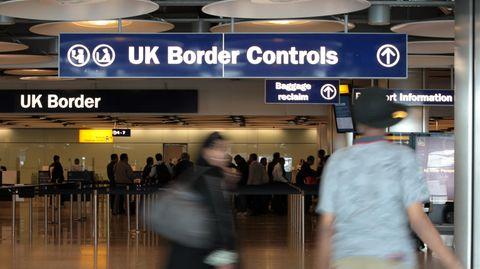 Grenzkontrollen Großbritannien