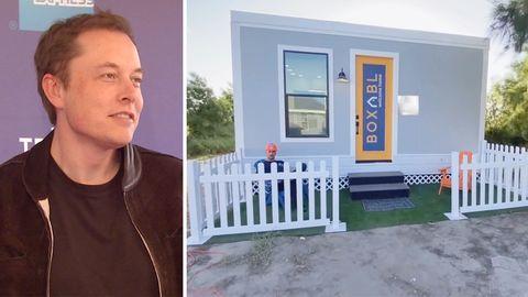 Elon Musk: In diesem Tiny-House soll der Milliardär heute leben