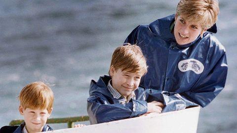 Diana mit William und Harry (v.l.)