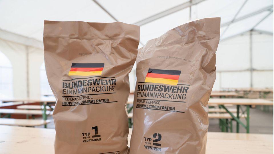 Die Einmannpackung der Bundeswehr soll umbenannt werden.