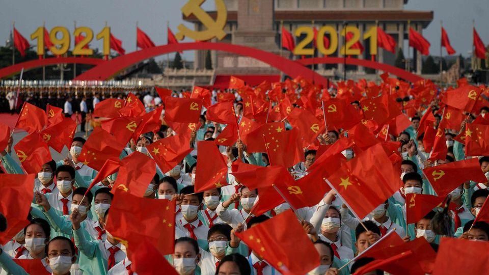 100. Geburtstag KP China