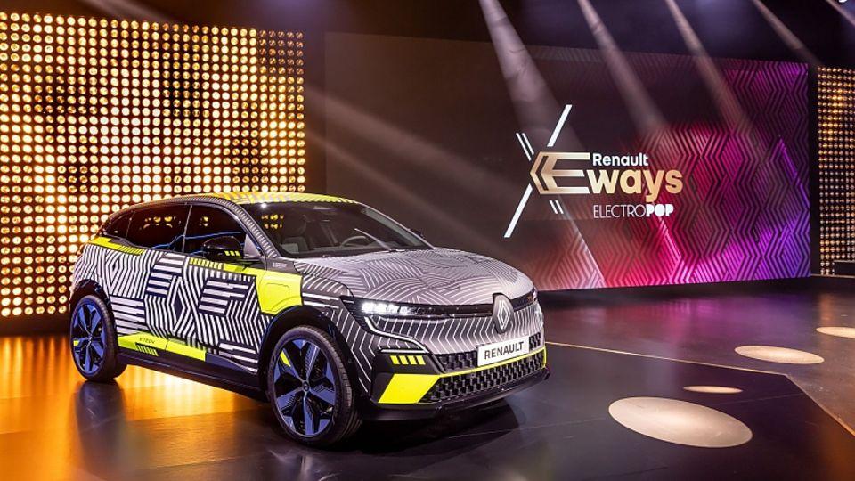 Der Mégane E-Tech Electric kommt 2022 auf den Markt