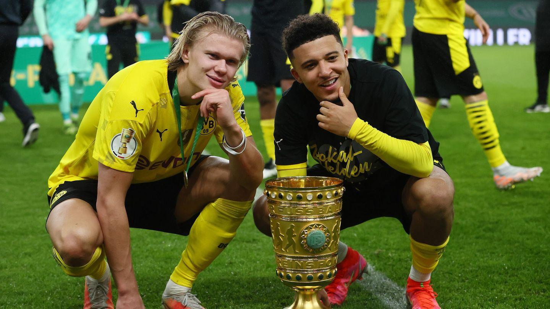 Erling Haaland Jadon Sancho Dortmund 2021