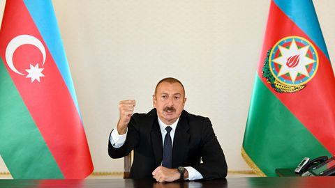 Ilham Alijew, Präsident von Aserbaidschan