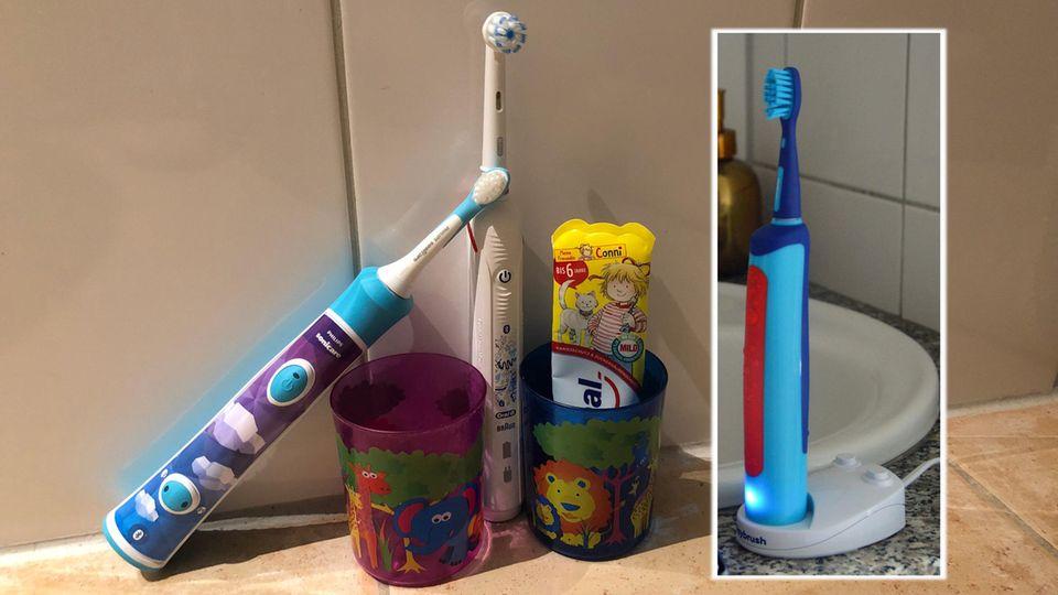 Elektrische Zahnbürsten für Kinder: die 3 Testmodelle