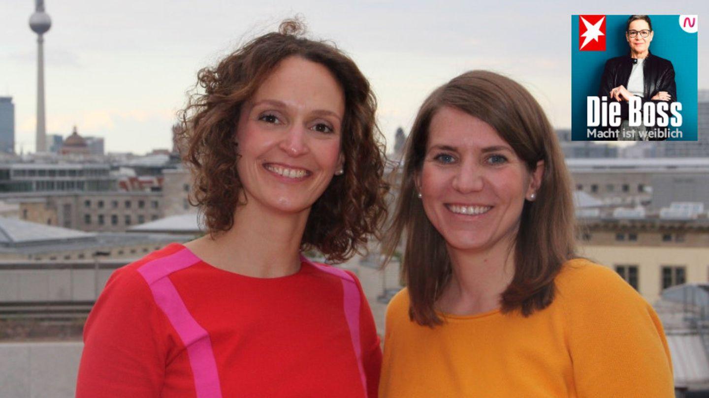 Deutsche-Bahn-Managerinnen Janina Schönitz und Miriam Kotte