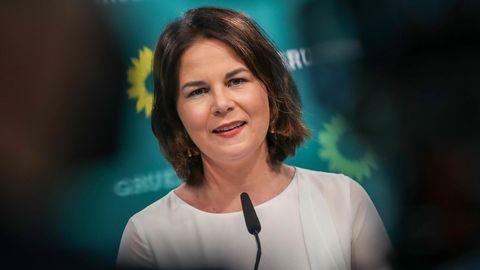 Grünen-Kanzlerkandidatin Annalena Baerbock