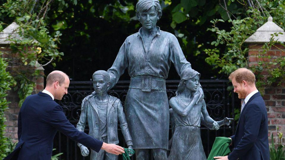 Statue von Lady Diana