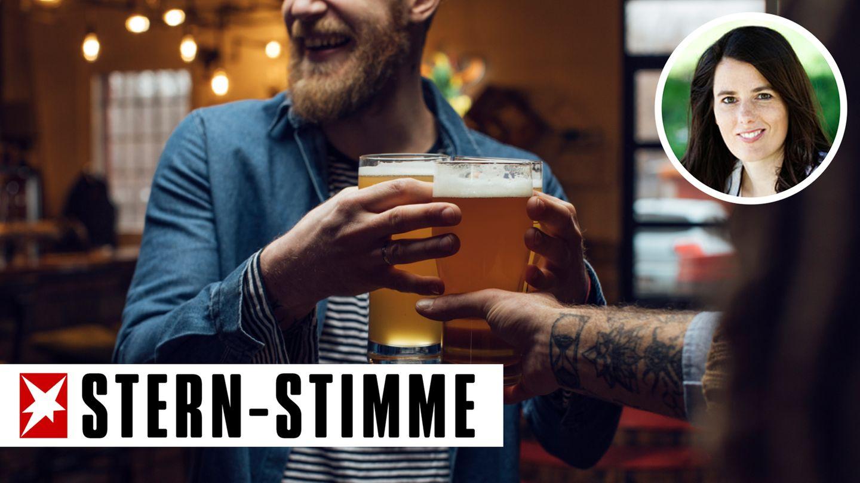 Problematisches Trinkverhalten belastet eine Beziehung (Symbolbild)