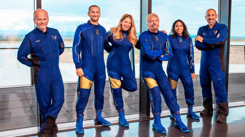 Richard Branson und sein Team