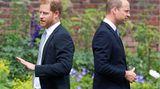 Am Ende des Tages könnte dieses Bild tatsächlich von großer Symbolkraft sein: Harry und William blicken in verschiedene Richtungen. Zwar haben die Brüder für eine Stunde ihre persönlichen Differenzen beiseite gepackt. Doch langfristig dürfte die Zeremonie nicht dazu beigetragen haben, dass sich ihr Verhältnis gebessert hat.