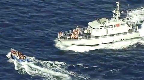 Sea-Watch: Libysche Küstenwache schießt auf Migranten