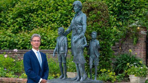 Die Diana-Skulptur im Kensington Park
