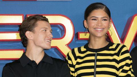 """""""Spider Man""""-Stars Zendaya und Tom Holland"""
