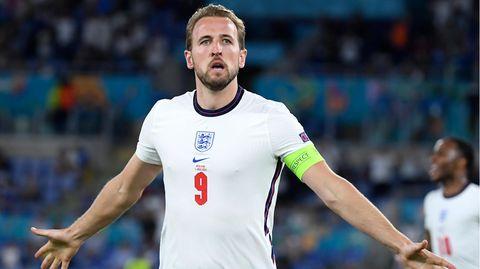 Harry Kane erzielte gegen die Ukraine zwei Treffer