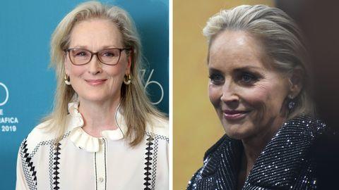 Sharon Stone und Meryl Streep