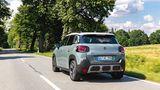 Das Fahrwerk des Citroën C3 Aircross ist für einen Crossover eher straff