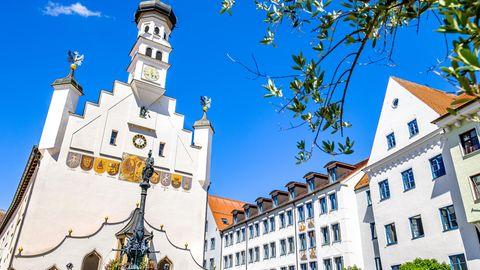 Die historische Altstadt von Kempten