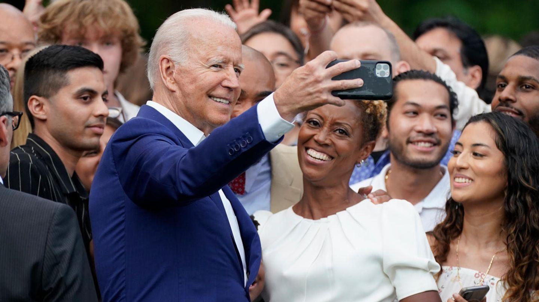 Joe Biden am 4. Juli