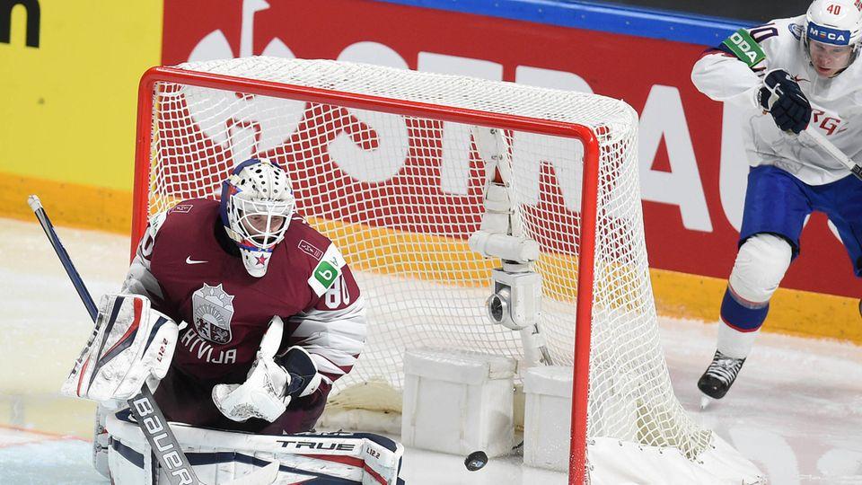 NHL-Star Kivlieniks: Lettischer Nationaltorwart stirbt bei Unfall